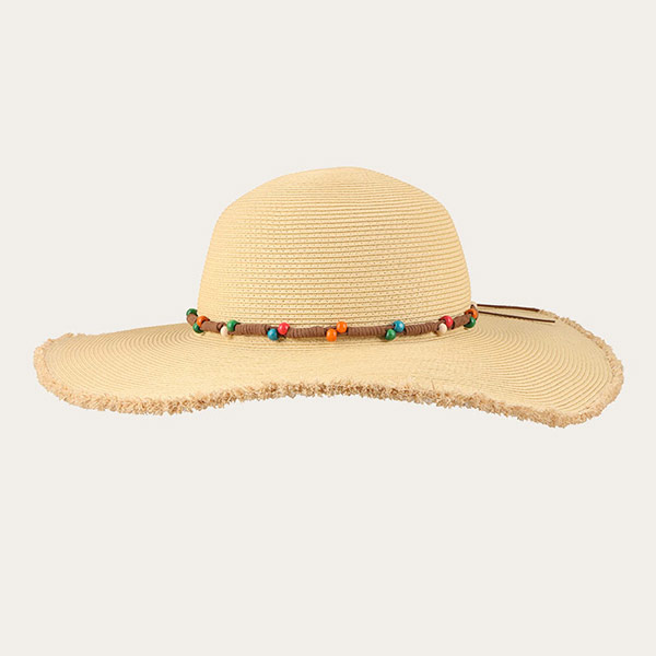 Summer Straw Hats For Women Trendy Floppy Beach Hat