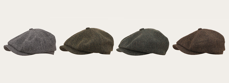 kinds of newsboy cap color